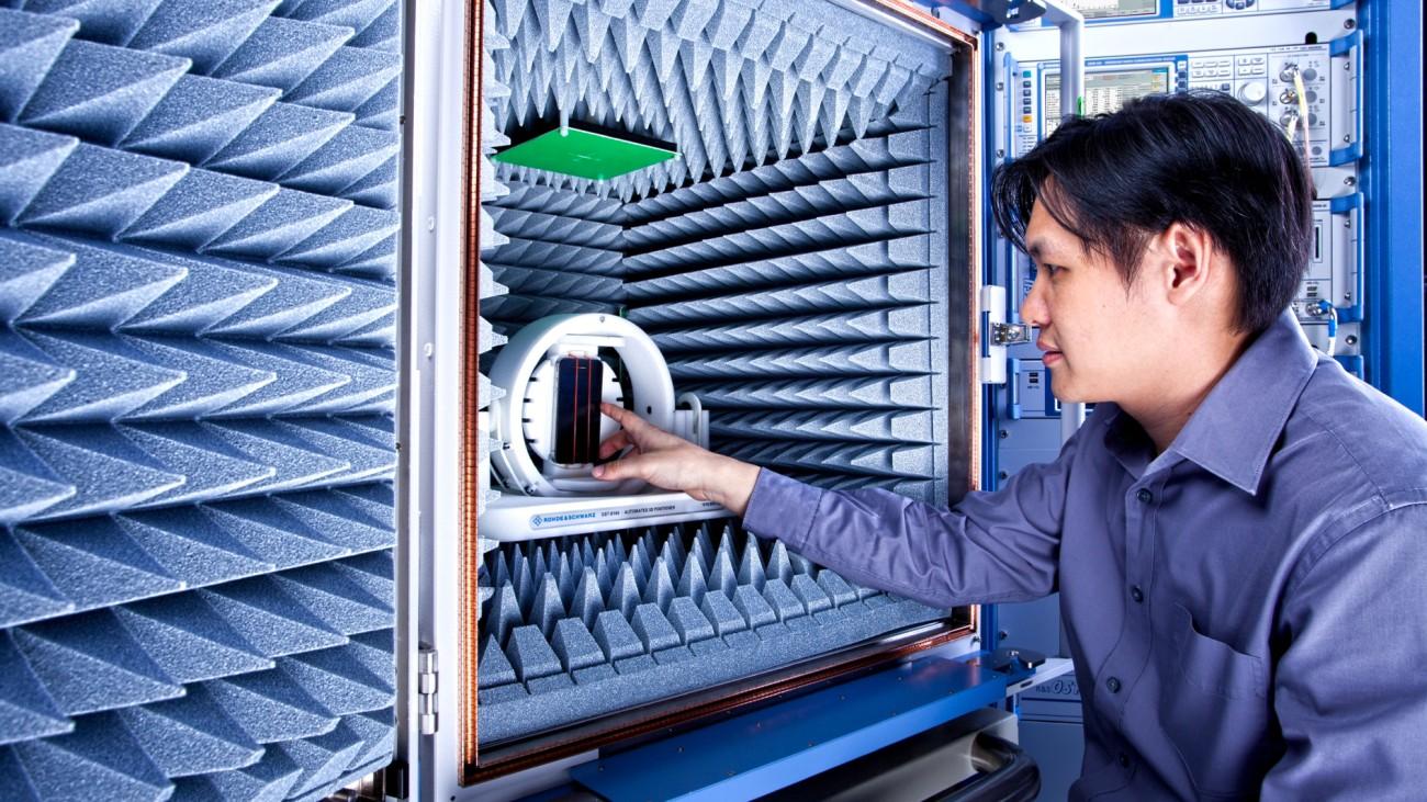 HF-Leistung and Netzabdeckung von IoT-Geräten