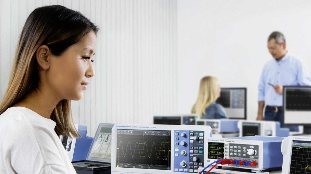 Messtechniklösungen für IoT-Geräte