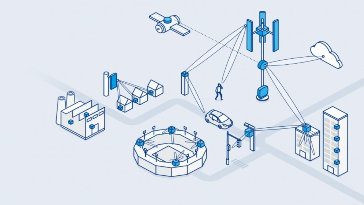 Instastructure Infografik Creating the base of 5G
