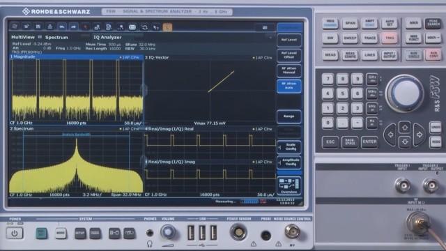 Coherent pulse demodulation using the R&S®FSW I/Q analyzer