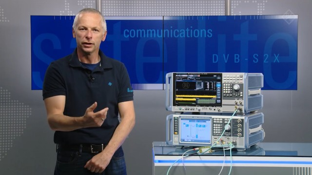 DVB-S2/X signal analysis and Bit Error Rate measurements