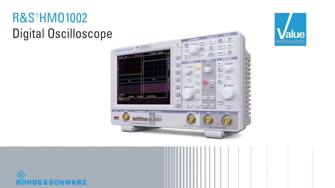 R&S®HMO1002 Digital Oscilloscopes