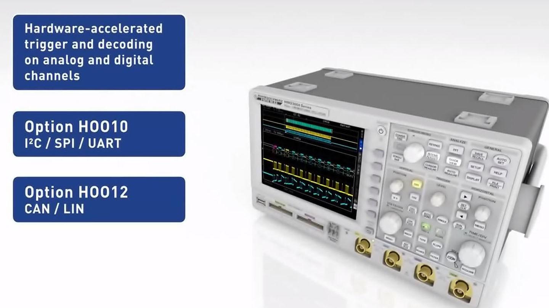 R&S®HMO3000 Digital Oscilloscopes