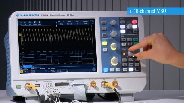 RTB2000 - Video logic analyzer