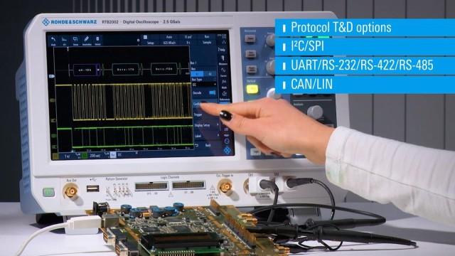 RTB2000 - Protocol analyzer - decode options