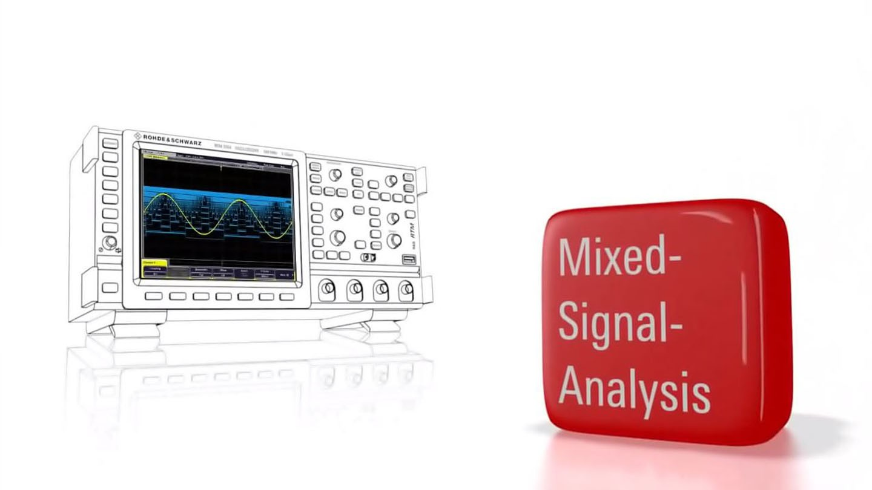 R&S®RTM2000 - Mixed Signal Analysis