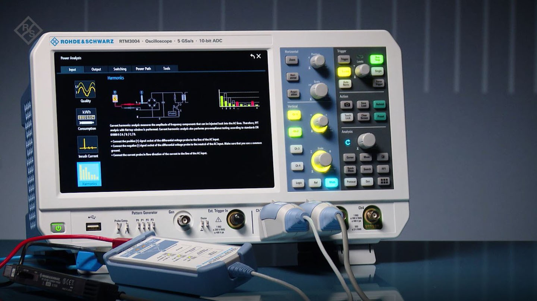 RTM3000 - RTA4000 - Harmonics Analysis