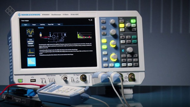 RTM3000 - Harmonics Analysis