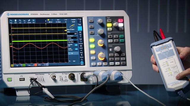 RTM3000 - Probe Portfolio Support