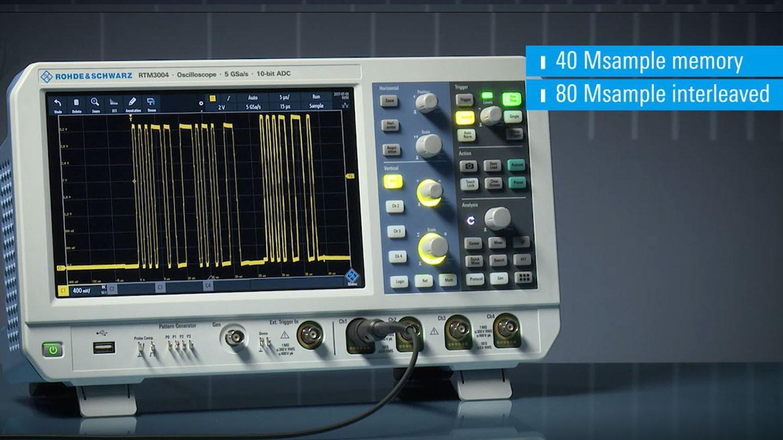 RTM3000 - Memory Preview