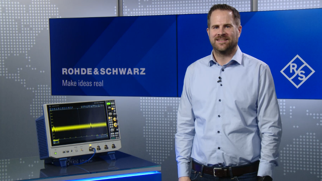 Measure small signals using HD Mode
