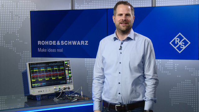 Customizable waveform display with R&S®SmartGrid