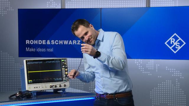 Powerful spectrum analysis on an oscilloscope