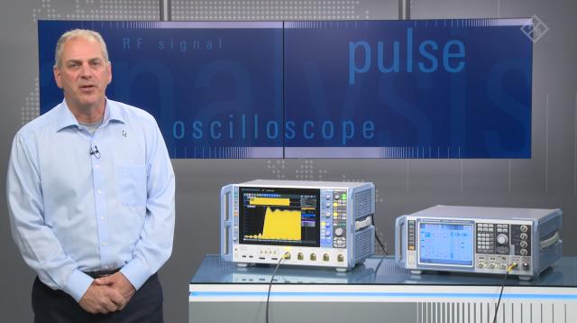 Analysis of wideband pulsed RF signals