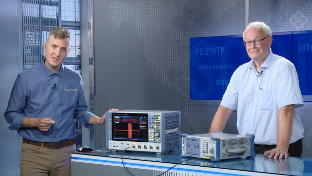 Energy measurement of a pulsed signals with the R&S®RTP High-Performance Oscilloscope