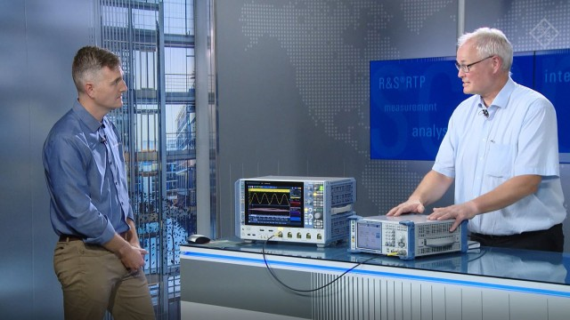 Advanced correction of integral math waveforms with the R&S High-Performance Oscilloscopes