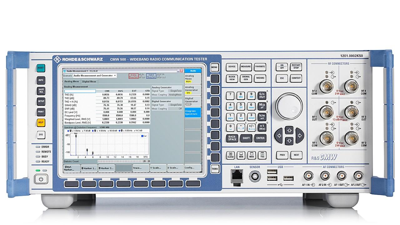 R&S®CMW500