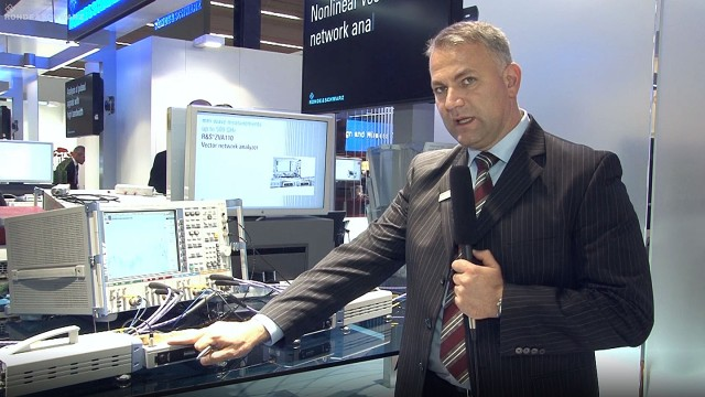 Millimeter wave measurements in one sweep with the R&S®ZVA110 presented at EuMW 2012