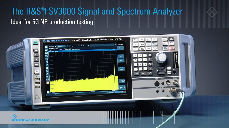 200 MHz analysis bandwidth and 5G NR analysis