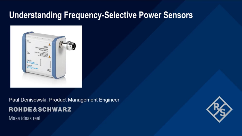 Understanding Frequency - Selective Power Sensors
