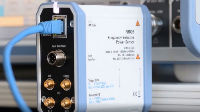 R&S®NRQ6 Frequency Selective Power Meter