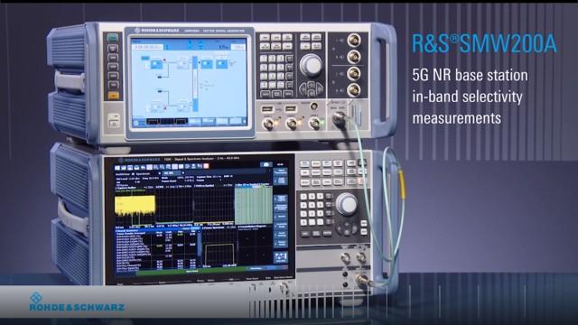 5G NR Inband Selectivity Measurement