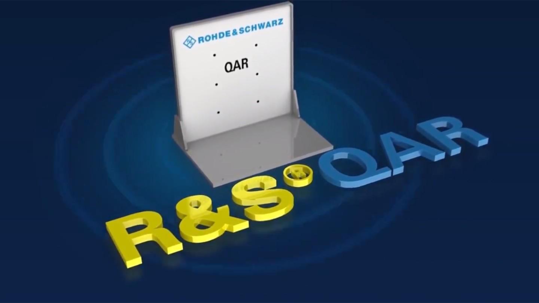 QAR innovation award screen