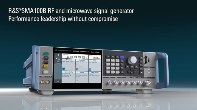SMA100B - Performance leadership without compromise