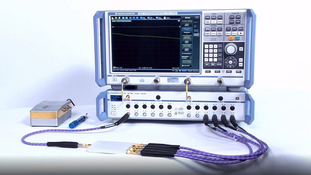 R&S®ZNB - Simplified multiport measurements up to 48 ports using R&S®ZN-Z84 switch matrix
