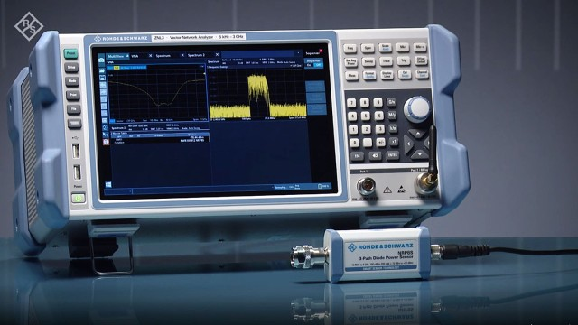 The R&S®ZNL vector network analyzer is the 3-in-1 allrounder