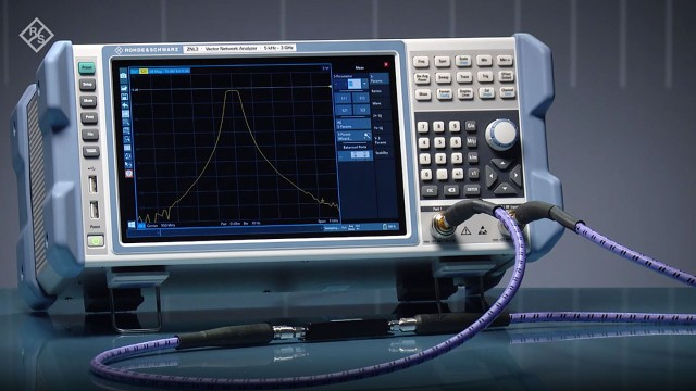 The R&S®ZNL vector network analyzer offers solid performance