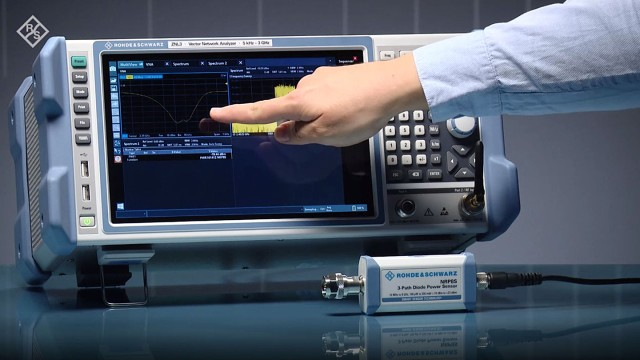 The R&S®ZNL vector network analyzer offers a convenient MultiView mode
