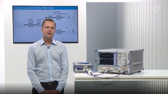 Group delay measurement on devices with embedded LO using option R&S ZVA-K9