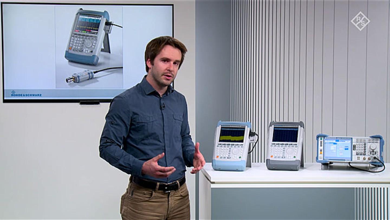 Precise pulse measurements using the R&S®FSH/ZVH handheld spectrum analyzer