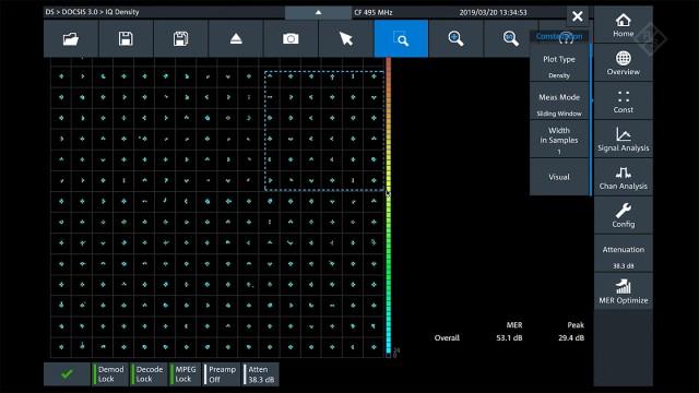 R&S®DSA | SC-QAM downstream signal analysis | Rohde & Schwarz