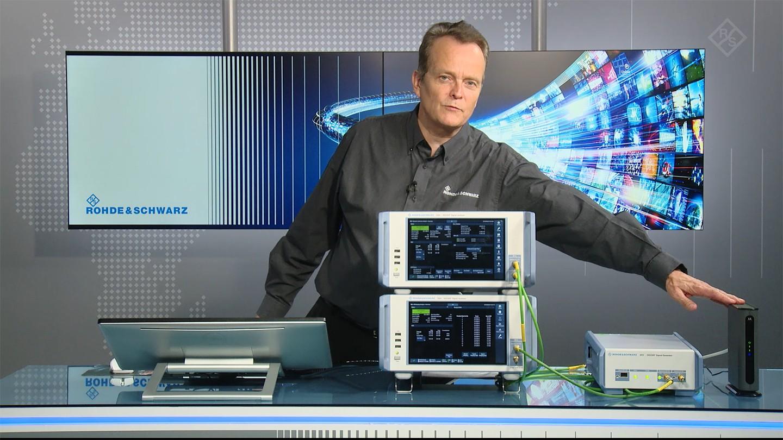R&S®DSA | DOCSIS upstream signal analysis in live operation| Rohde & Schwarz