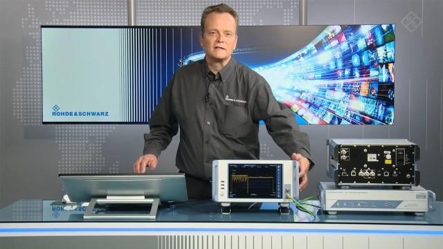 R&S®DSA DOCSIS Signal Analyzer | Overview | Rohde & Schwarz