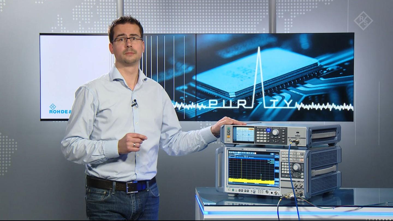 Measuring harmonic distortion of high power amplifiers