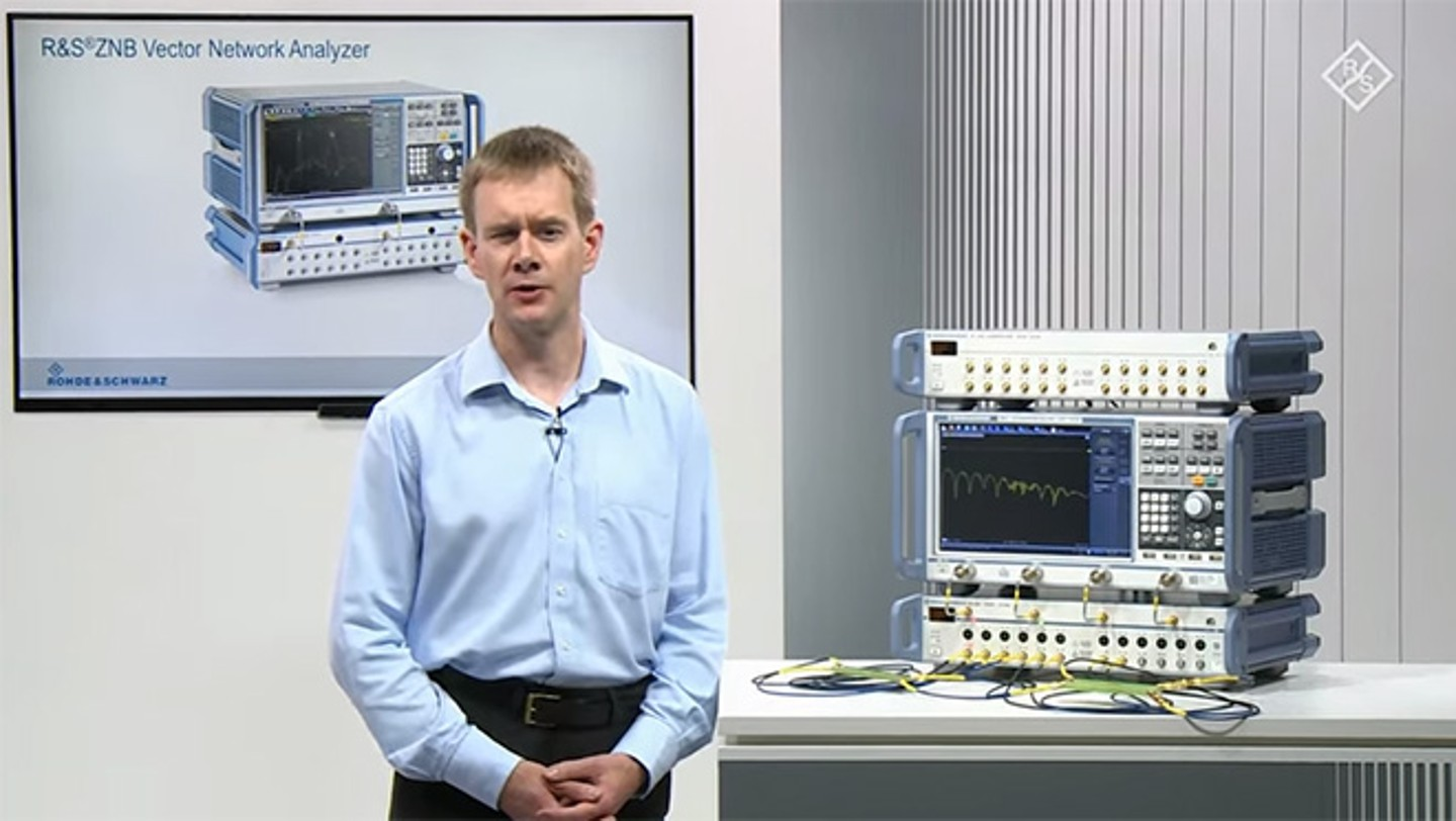 Signal integrity testing on differential signal structures with the R&S®ZNB