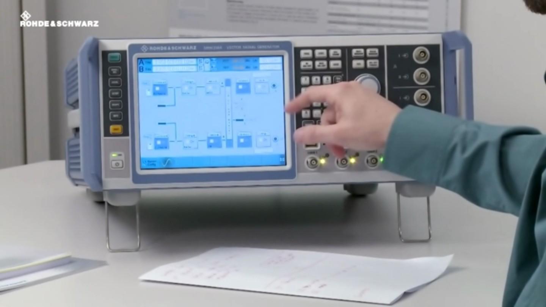 LTE Test Case Wizard for simplified setup of base station conformance tests