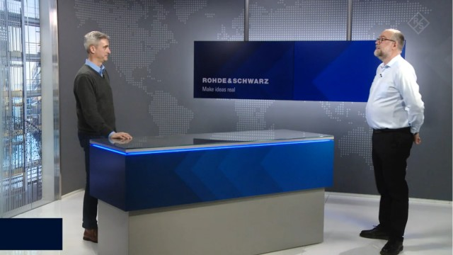 80 seconds with the CERTIUM® RADIOS by Rohde & Schwarz