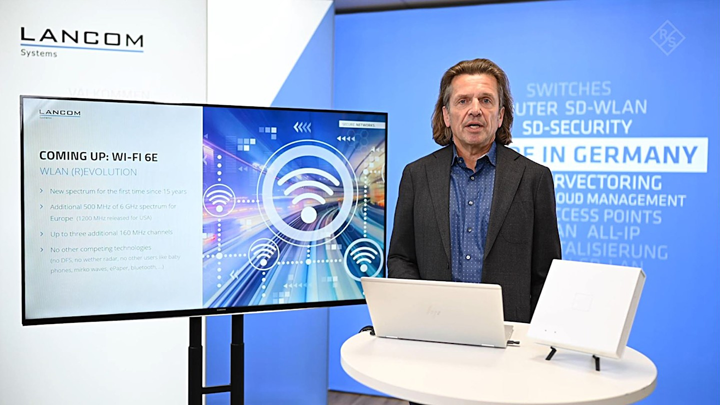 WiFi 6E - New 6 GHZ WLAN complementing 5G Networks