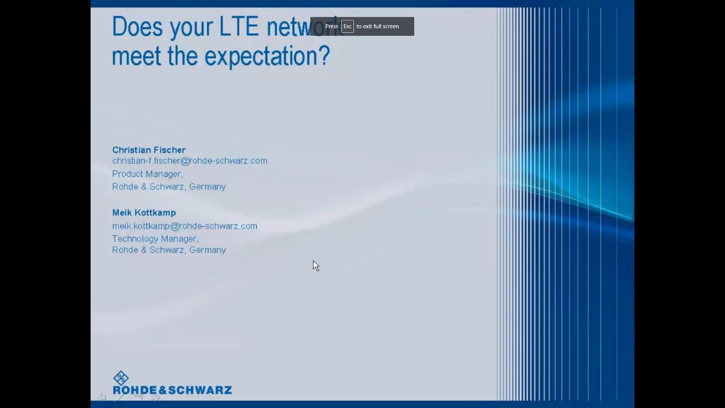 Does Your LTE Network Meet the Expectations?