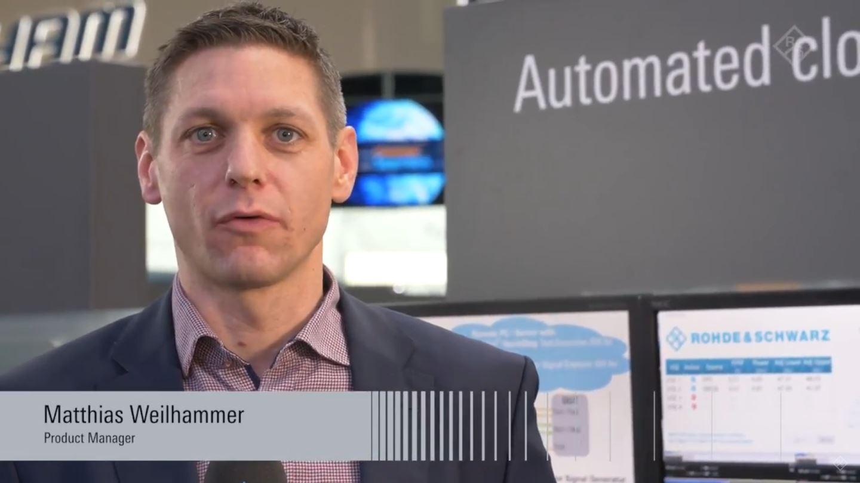 Automated cloud-based RF testing