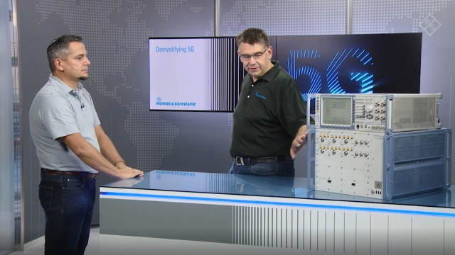 Demystifying 5G – 5G NR device testing made simple with the R&S®CMX500