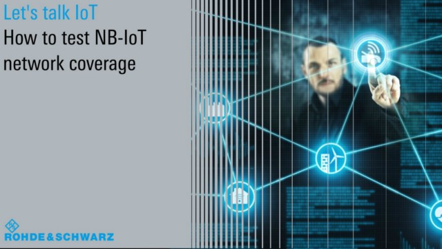 Let's talk IoT – How to test NB-IoT network coverage