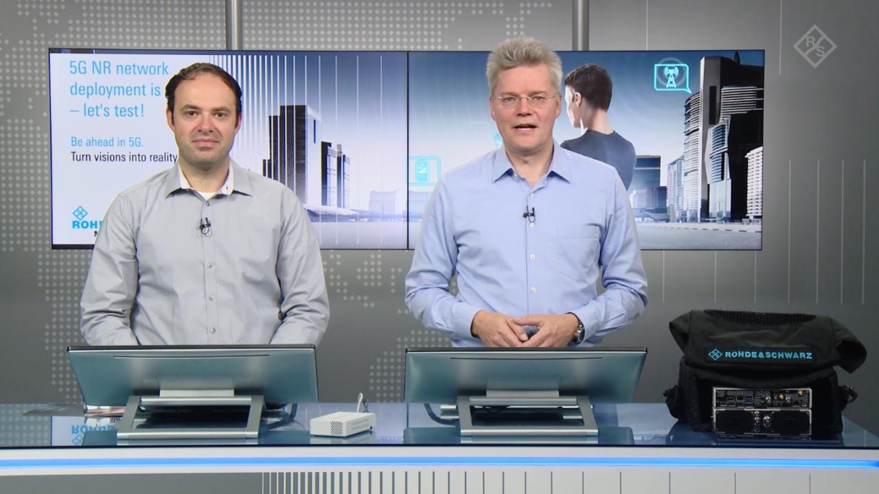 Mobile Network Testing – der 5GNR-Netzaufbau hat begonnen