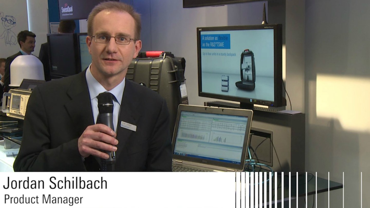 R&S®TSME Product Introduction at MWC 2014
