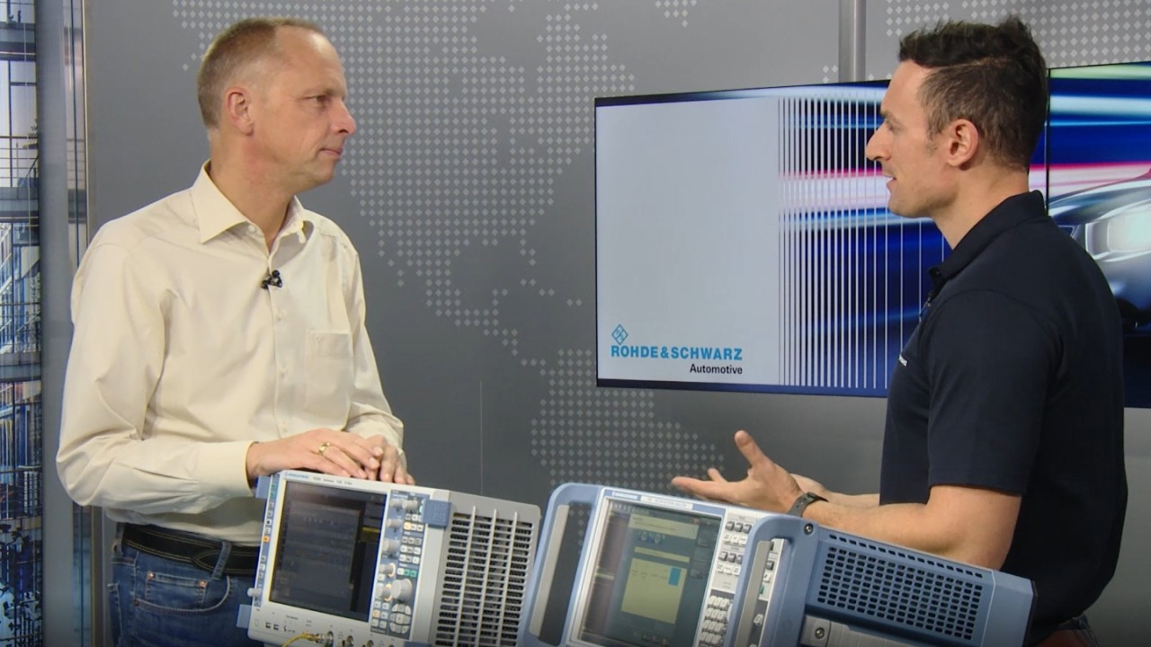 1000BASE-T1 automotive Ethernet compliance testing