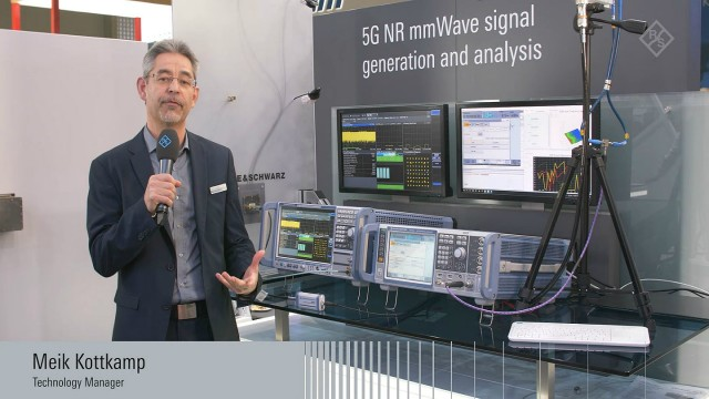 First 5G NR signal generator and analyzer presented at MWC 2018